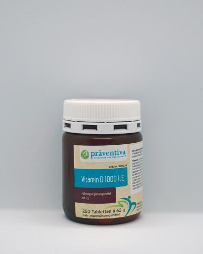 Vitamin D 1000 IE (250)