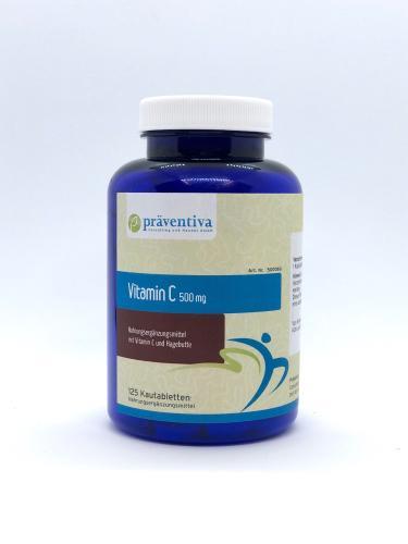 Vitamin C 500 mg Kautabletten